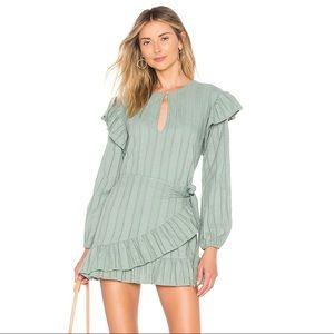 TULAROSA: cecily dress in sage green